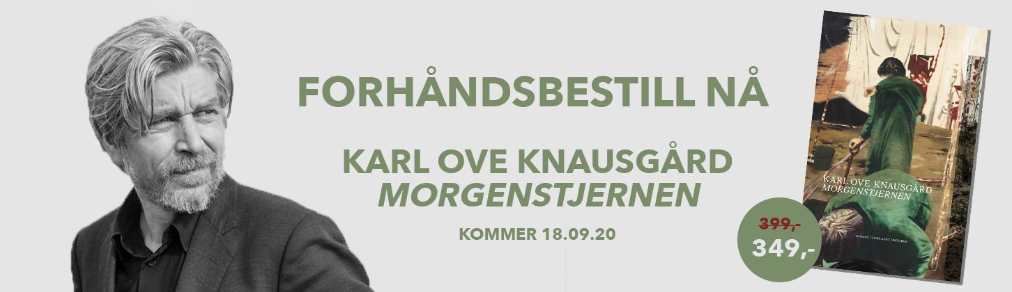 """Forhåndsbestill Karl Ove Knausgårds """"Morgenstjernen"""""""