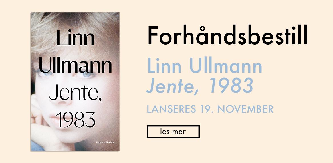 Linn Ullmann - forhåndsbestill Jente, 1983