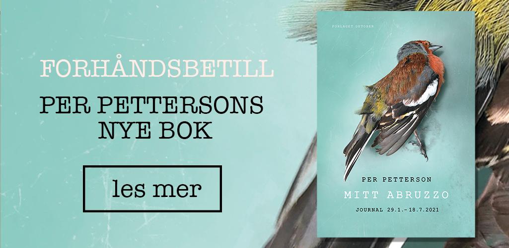 Forhåndsbestill Per Pettersons nye bok